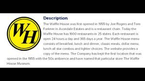 waffle house inc corporate office contact information youtube