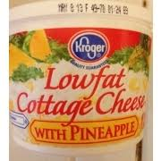 Calories In Lowfat Cottage Cheese by Kroger Cottage Cheese Low Fat With Pineapple Calories