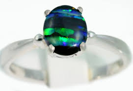 black opal engagement rings solid black opal engagement ring sb950