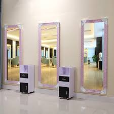 hair and makeup station usd 40 18 barber shop mirror single wall mount mirror