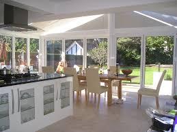 Kitchen Conservatory Designs Open Plan Kitchen David Fennings Conservatories