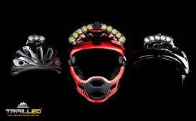 Motorcycle Helmet Lights Kickstarter Trail Led U0027s Light Bright And Low Profile Helmet