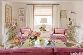 Pink Living Room Chair Gold And Pink Living Room Design Contemporary Living Room