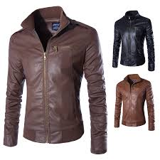 leather motorcycle jacket brands aliexpress com buy 2017 fashion autumn winter men leather jacket