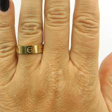 cartier love rings images Cartier love yellow gold ring the jewelry box jpg