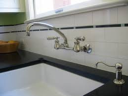 wall mounted kitchen faucet with sprayer wall mount kitchen faucet with sprayer regard to awesome