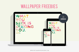 Seeking Free Freebie Desktop Wallpaper Rumi Patti Murphy Designs
