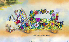 mardi gras parade floats butterfly king float to join this year s rex parade on mardi gras