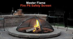 Firepit Screen Outdoor Hearth Accessories Area Landscape Supply