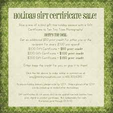 gift card sale gift certificate sale minneapolis baby child