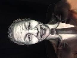 halloween idea makeup face painting 2d nelson mandela youtube
