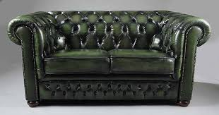 Higgins Sofa In Vintage Green Leather Sofa At Stdibs Give Your - Hunter green leather sofa