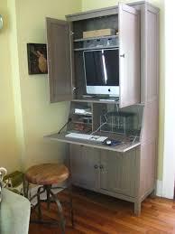bureau armoire cuisine convert armoire to puter desk diy playhouse door garden