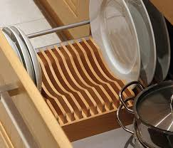 plate rack cabinet insert drawer inserts springhill