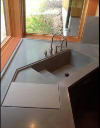 kitchen sink store integral concrete kitchen sink visit store this kitchen sink was