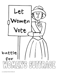 world history coloring pages printables women u0027s suffrage protests