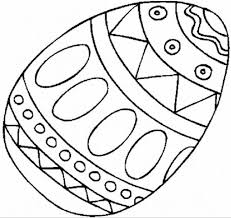 printable free colouring pages easter egg for kindergarten with