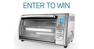 Win a Black Decker Toaster Oven All the giveaways