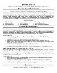An Elite Resume Project Management Resume Examples Resume Example And Free