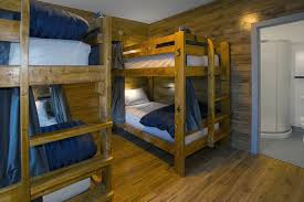 Two Floor Bed by The Jasper Downtown Hostel Hosteling In Jasper Alberta