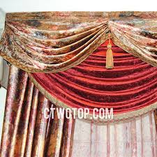 Victorian Curtains Victorian Designer Living Room Brown And Red Floral Curtains No