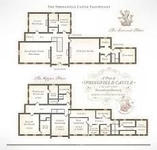 Windsor Castle Floor Plan by Ground Floor Plan Of Penrhyn Castle Wales 1469a808 Luxury Castle