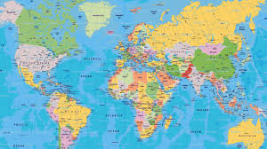 world map image with country names hd world map free large images
