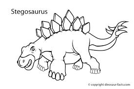 dinosaur facts stegosaurus dinosaur coloring