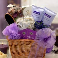 lavender gift basket bath lavender gift basket for all occasions with lindt
