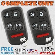 2004 honda odyssey key 2 for 2001 2002 2003 2004 honda odyssey keyless entry remote car
