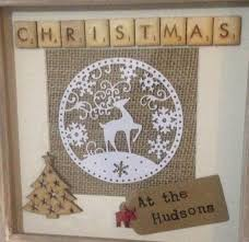 White Christmas Craft Ideas by Best 25 Christmas Picture Frames Ideas On Pinterest Picture
