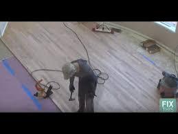 Diy Hardwood Floor Installation How To Install Hardwood Floors Diy
