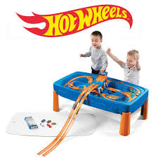 step 2 water works water table wheels car track play table kids pretend play step2