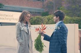 No Strings Attached Memes - you said no flowers adorably funny scene from the movie no