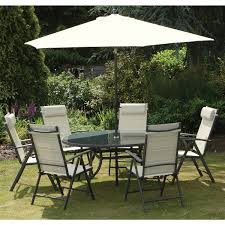 garden dining sets argos buy amalfi 6 seater patio furniture garden furniture cream deck chairbench seat cushions argos cool dining room chair covers design