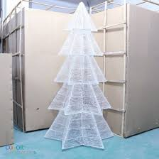 cd tr114 led lighted trees white decorative trees