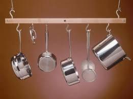 Under Cabinet Pot Rack by Remodelaholic Installing An In Cupboard Pot Rack