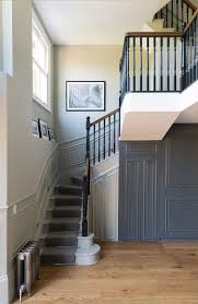 Wooden Banister Banister Colour Ideas Staircase Contemporary With Wooden Staircase