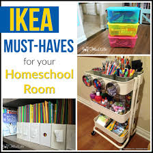 ikea must haves for your homeschool room my joy filled life