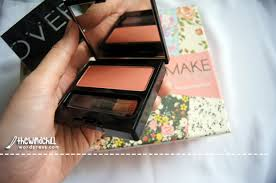 Eyeshadow Wardah Vs Makeover review makeover blush on 03 promiscious the wind chill