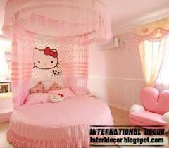 modern girls bedroom hello kitty girls bedroom themes designs ideas