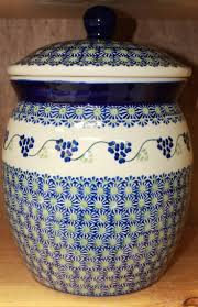 159 best polish pottery jars and containers images on pinterest