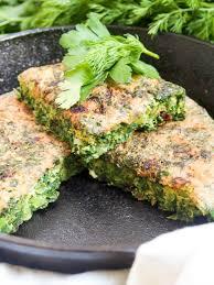 kuku sabzi persian herb frittata caroline u0027s cooking