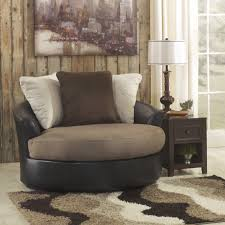 living room swivel chairs upholstered furniture sophisticated oversized round swivel chair with