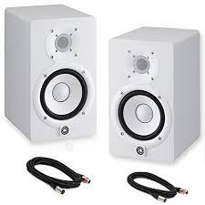 black friday studio monitors yamaha hs5 powered studio monitors pair white w xlr cabl u2026 wish