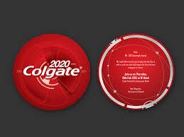 visual identity design for colgate 2020 event bdworkshop company