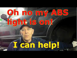 abs light on ford f150 diagnosis the rear abs sensor on a ford explorer with c1235 cl236