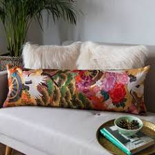 Brocade Home Decor Custom Pillow Cut From A Vintage Japanese Silk Embroidered Wedding