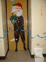uw biology graduate student association christmas door decorating