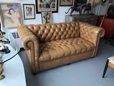 Chesterfield Sofa Vintage Leather Chesterfield Sofa Ebay